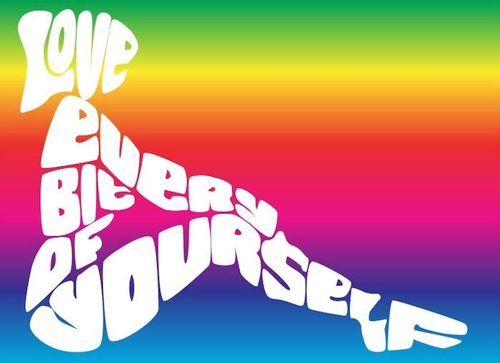 elsk dig selv og bliv elsket